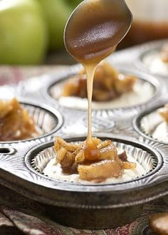 Easy to make, no bake Mini Apple and Salted Caramel Cheesecakes for any occasion! The recipe is simple to make and big on taste! I love caramel recipes.