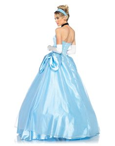 Cinderella Disney SEXY | ... Costumes / Disney Princess Cinderella Deluxe Adult Womens Costume