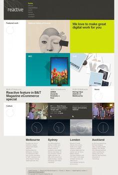 Reactive web design