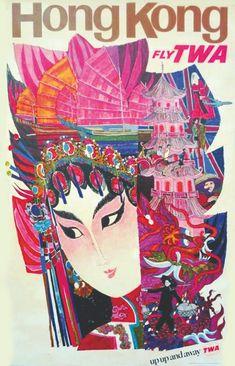Visit the USSR Vintage Travel posters Vintage TWA poster: Visit Hong Kong travel poster Canvas Art Prints, Vintage Art, Hong Kong Art, Illustration, Framed Canvas Art, Travel Art Print, Vintage Ads, Travel Ads, Retro Travel Poster