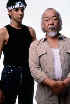 KARATE KID, Ralph Macchio, Pat Morita, 1984,