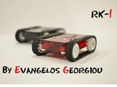 The RK-1 Is An Arduino-Based Mobile Robot You Control With Smartphone Swipes | TechCrunch