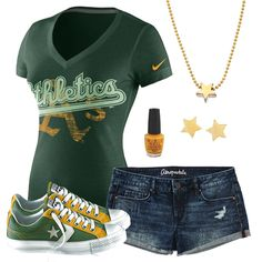 Oakland Athletics Summer All Star Outfit