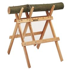 Cut logs the safe way with this sawhorse from Stihl