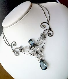 wire wrap necklace is awesome