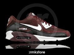 Nike Air Max 90 Deep Burgundy White