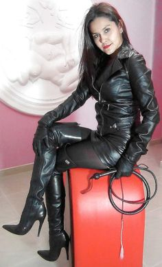 In cat lady boots mature suit