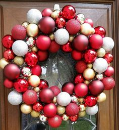 Check out this item in my Etsy shop https://www.etsy.com/listing/257924134/red-silver-and-gold-christmas-ornament