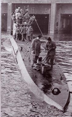U-Boot-Bunker (Submarine Pen) 2nd and 10th Flottillas Unterseebootsfolttille, Keroman I, Keroman II und Keroman III, Lorient France