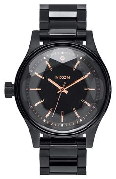 Nixon 'The Facet' Bracelet Watch, 38mm available at #Nordstrom