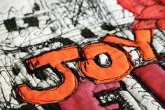 free motion graffiti quilting