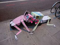 One Guy Walks The Streets Looking For Trash. What He Does With It Is Art.