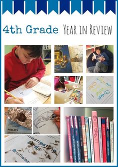 4th Grade Homeschool Year in Review from Homeschool Creations