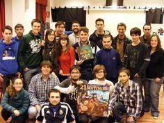 Foto con todos los participantes en el Torneo de 21 Mutinies de Córdoba. ¡Muchas gracias #Piratas! / Photo with all the contestants in the 21 Mutinies in Córdoba. Thanks a lot to all you great Pirates!