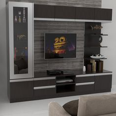 Entertainment Cabinet – M&A HomeStyle Center Corp. Simple Tv Unit Design, Modern Tv Unit Designs, Living Room Tv Unit Designs, Wall Unit Designs, Tv Wall Design, Tv Unit Interior Design, Lcd Unit Design, Tv Unit Furniture Design, Tv Cupboard Design