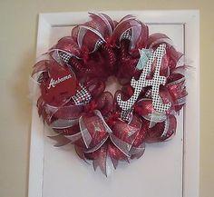 Alabama-Roll-Tide-Deco-Mesh-Wreath-Handmade-Made-Upon-Receipt-of-Order