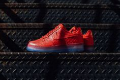 """Nike Air Force 1 CMFT Lux Low """"University Red"""""""
