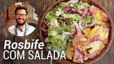 Rosbife Caseiro de Lagarto com Salada - Web à Milanesa