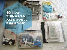 2 GIRLS, 1 AMERICA: Ten Best Things to Pack for a Road Trip