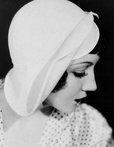 Claudette Colbert #VintagePolkaDotcom #alwaysbevintage