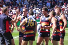 First game at Adelaide Oval 2014