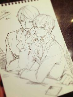 Tsukiyama x Kaneki, i don't ship this at all cause Tsukiyama is creepy. I still have to agree this is a really good picture
