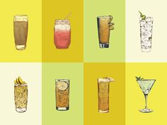 Summer Cocktails / Outside Magazine by Jonathan Schubert