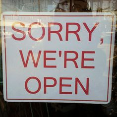 Funny Store Hours Sign | Funny Store Signs: Clever, Amusing Street Sign Pictures, Photos | Teen ...