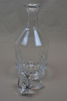 Baccarat Crystal Decanter - 25.5 cm / 10 inches - Mint - (from the 1950's) in Pottery & Glass, Glass, Art Glass | eBay
