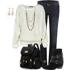 Fall Fashion, created by mtoomey on Polyvore