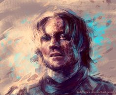 """The Kingslayer Digital Painting nlmda: """"Game of Thrones inspired paintings keep coming - Jaime Lannister this time. I was tired of painting smooth and clean people, so this is my little study in dirt. Valar Dohaeris, Valar Morghulis, Game Of Thrones Art, Jaime Lannister, Paint Background, Mother Of Dragons, Photoshop Cs5, Illustrations, Doctor Strange"""