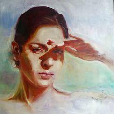 "2,625 Gostos, 60 Comentários - Hodaya Louis (@hodayalouis) no Instagram: ""Self portrait | Oil on wood"""