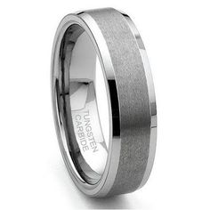 Wedding Band   on Titanium Wedding Ring For Him