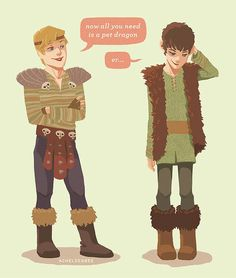 Arthur n Merlin