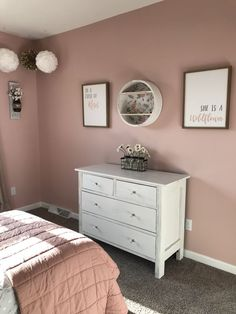 Vintage farmhouse glam teen girls room blush pink hadley in 2019 спальня . Teen Room Decor, Room Ideas Bedroom, Bedroom Decor, Bed Room, Teen Room Colors, Bedroom Crafts, Bedroom Furniture, Diy Furniture, Teen Girl Rooms