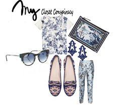#my daily look #inspiration #spring summer 2013  http://myclosetconspiracy.tumblr.com/