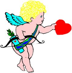 Valentines Day Cupid 5 iron on stickers (heat transfer).gif (718×727)