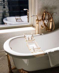 Brass Clawfoot Tub