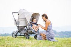 Der Geschwisterwagen Zoom erhält Ihnen die Freiheit und Flexibilität | The double pushchair Zoom allows you to keep the freedom and flexibility