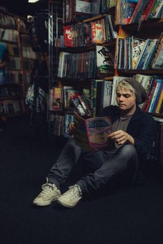 Gerard way comic book shopping