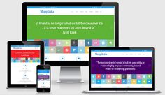What are Parallax, Responsive, & One-page designs? Web Design Trends, First Page, Page Design, Catering, Social Media, Graphic Design, Catering Business, Social Networks