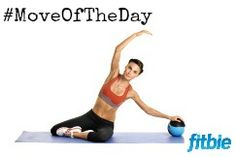 #MoveOfTheDay: Mermaid with ball, works #abs, #core, and #obliques