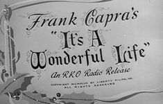 Title sequence from the film 'It's a Wonderful Life' directed by Frank Capra, starring James Stewart, Donna Reed and Lionel Barrymore. Movie Titles, Movie Songs, Movie Posters, Old Movies, Great Movies, Film Warrior, Wonderful Life Movie, Wonderful Time, Wonderful Things