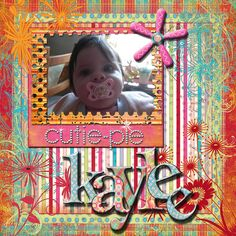 Digital scrapbooking.