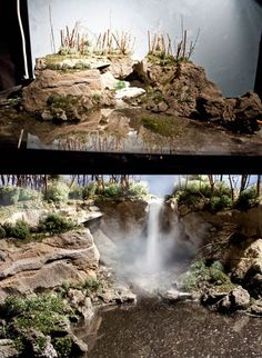 Distinguished counted model train layouts ideas hop over to this site Miniature Photography, Model Train Layouts, Weird World, Model Trains, Decoration, Behind The Scenes, Scenery, Landscape, Outdoor