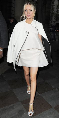 shop Laura Whitmore's all-white outfit