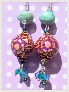 Sterling Silver Taj Mirage Mood Earrings with by HulaTallulah, $47.00