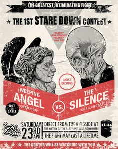 Doctor Who - Weeping Angels vs. The Silence