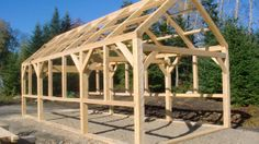 12 X 24 Timber Framed Greenhouse Greenhouse Plans