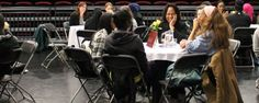 Celebrating International Women's Day at Haringey Sixth Form Centre.
